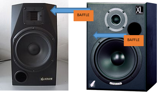 Adam nearfield monitors - Baffles described - Know Your Studio Monitors