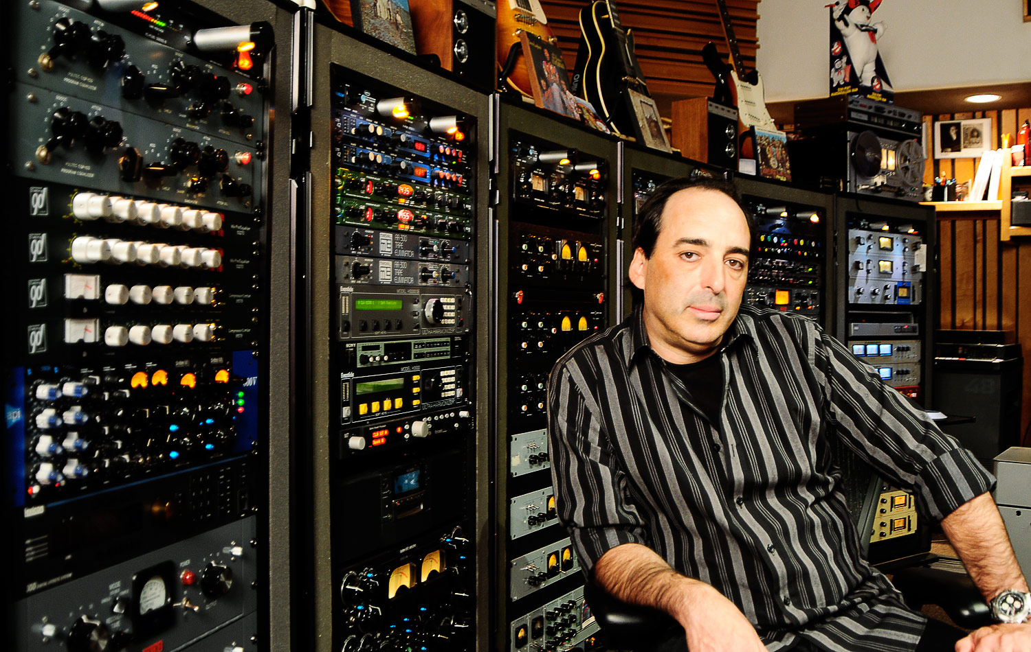 Chris Lord-Alge in studio - 5 Top Mix Engineers in Rock