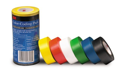 Multi-Colored Electric Tape