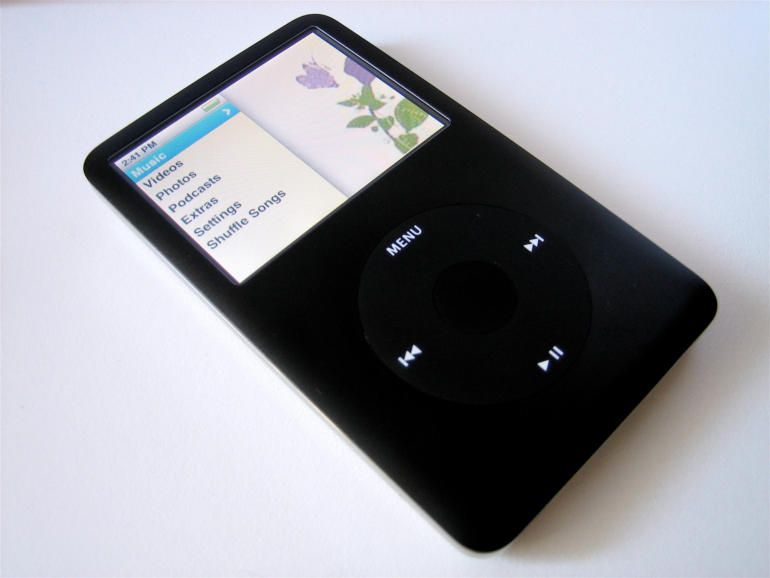 iPod Classic Black