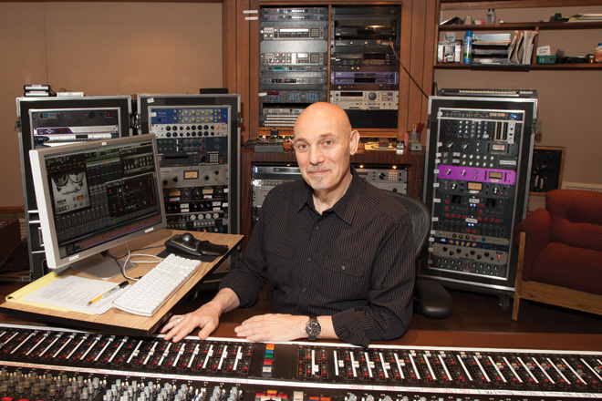 Joe Chiccarelli in studio - 5 Top Mix Engineers in Rock