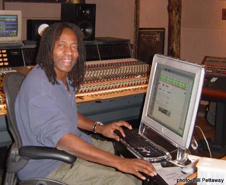Jimmy Douglass in Studio