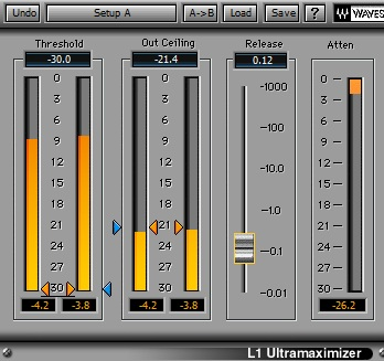 Waves L1 Limiter plugin