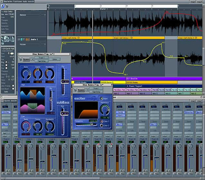 Logic Pro Screenshot -Choosing A Digital Audio Workstation (DAW)