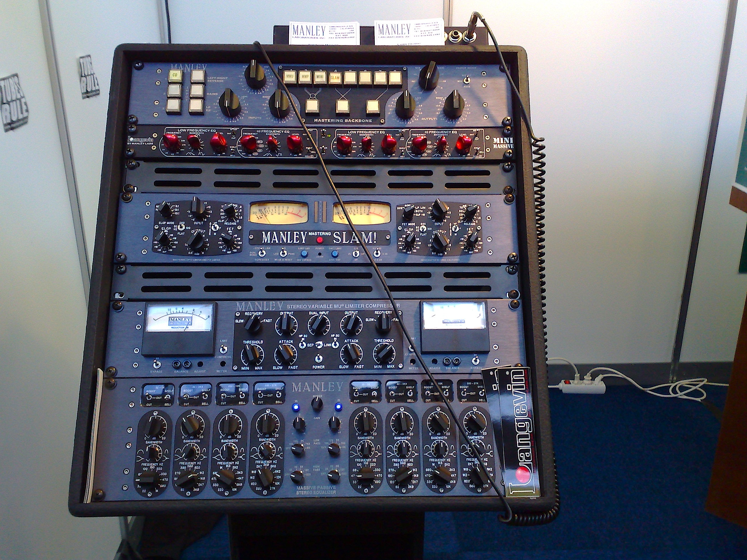 Manley Gear at AES convention - Is Your Mix Ready For Mastering?