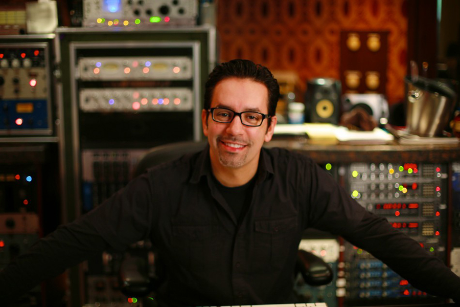 Manny Marroquin in Studio - 5 Top Mix Engineers in Hip Hop