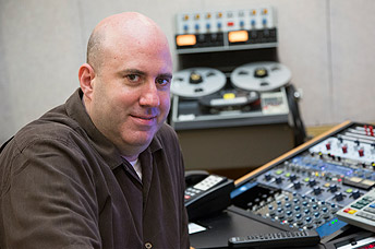 Mark Donahue in studio - 5 Top Mix Engineers in Classical or Jazz