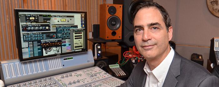Tony Maserati in studio