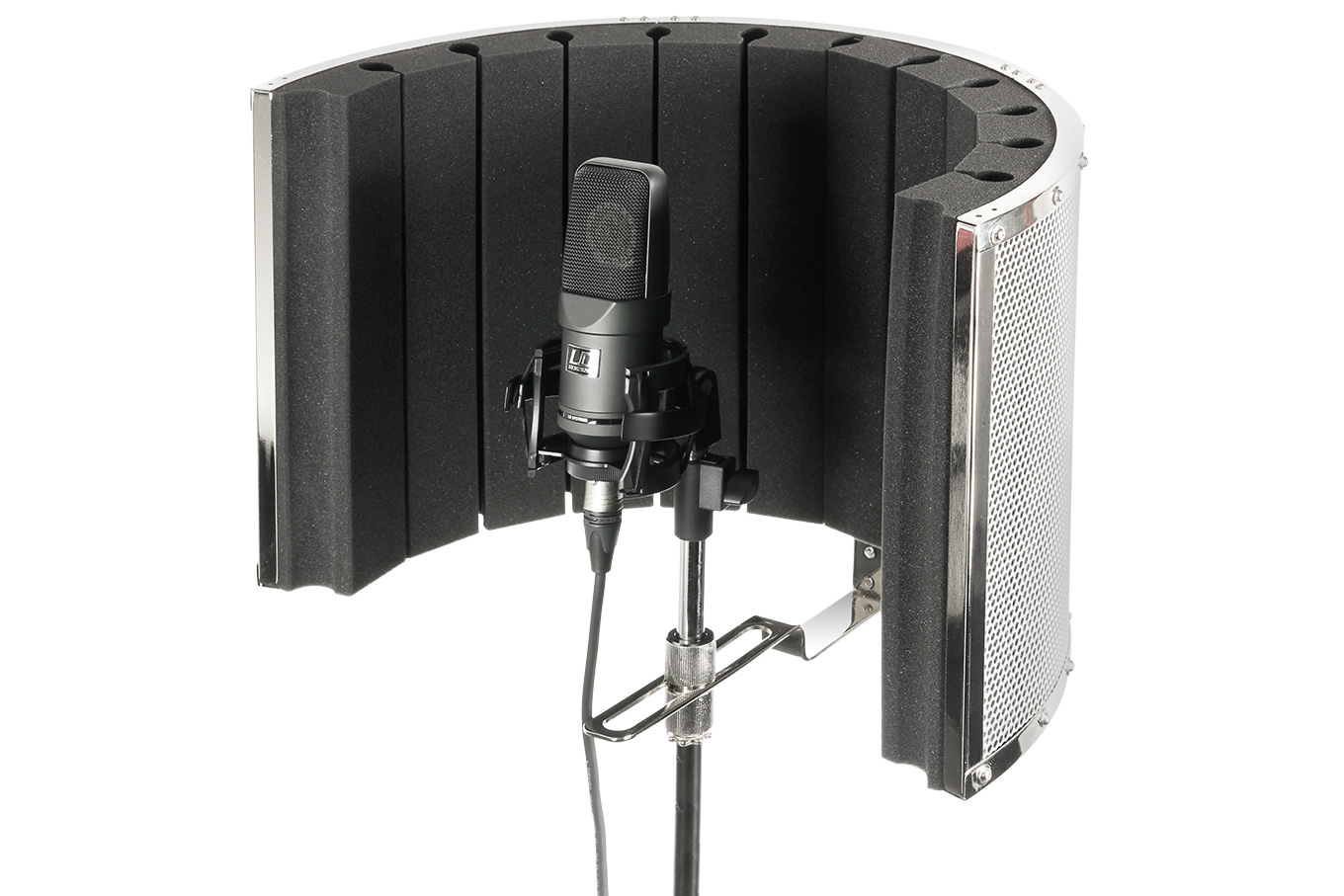 Portable Microphone Isolation Shield