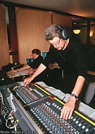 Peter Laenger in studio -5 Top Classical Mix Engineers