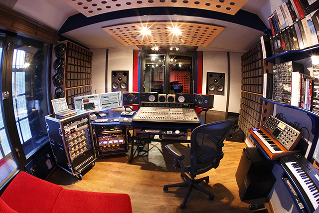 AES Recording Studio Tour