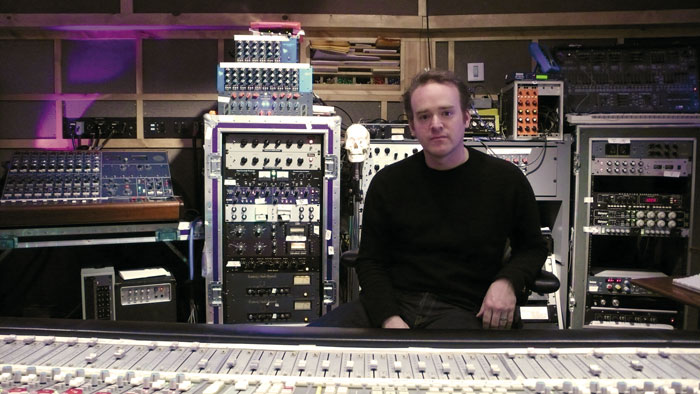 Rich Costey in studio - 5 Top Mix Engineers in Rock
