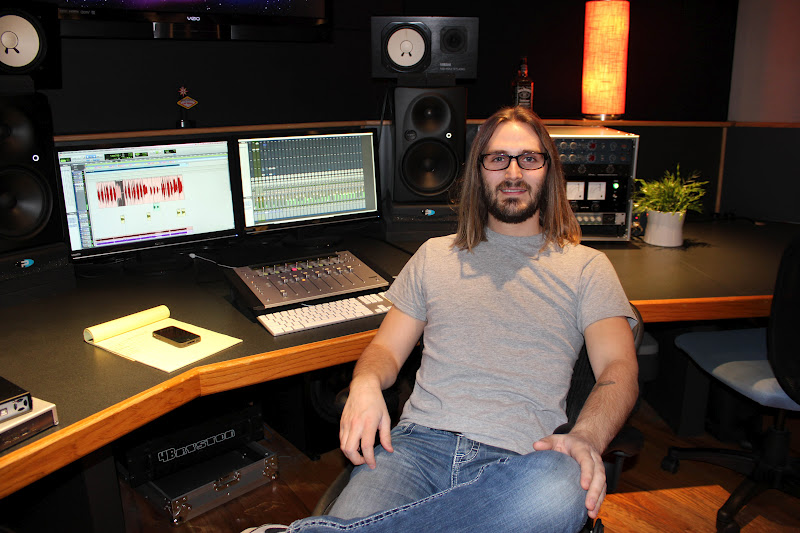 Ryan Gore in studio - 5 Top Mix Engineers U should Know in Country Music!