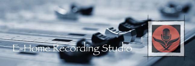 E-Home Recording Studio Logo