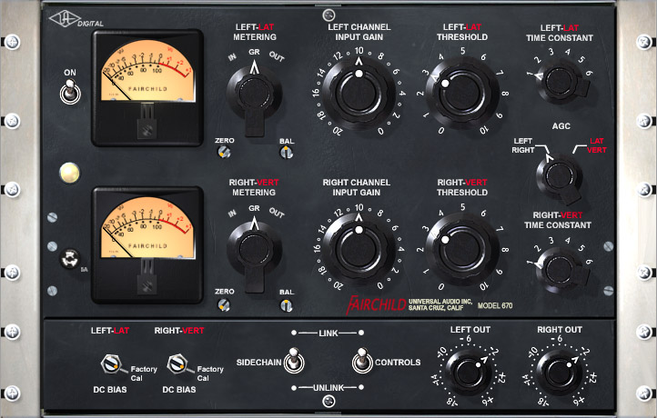 UAD Fairchild 670 plugin