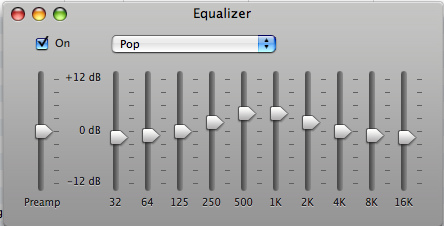 iTunes Graphic Equalizer - Equaliation The Why & How - Understand Everything About Equalization