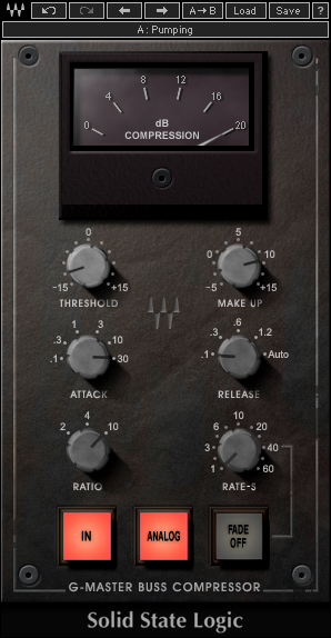 Waves SSL G-Series Buss Compressor