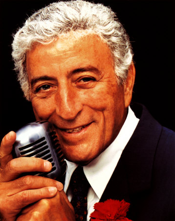 Tony Bennett Headshot - Name That Mic - Celebrity Microphone Trivia!
