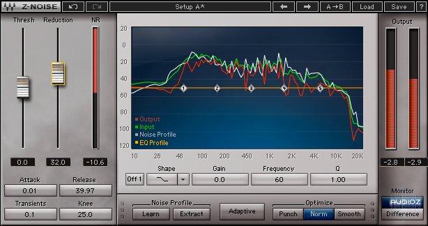 Waves Z-Noise plugin