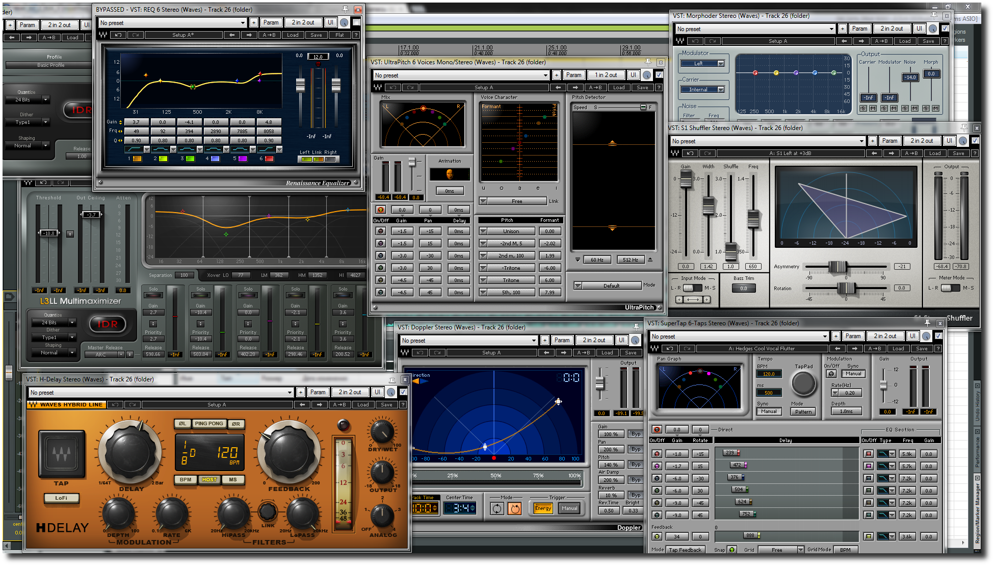 Waves Plugins graphic -Choosing A Digital Audio Workstation (DAW)